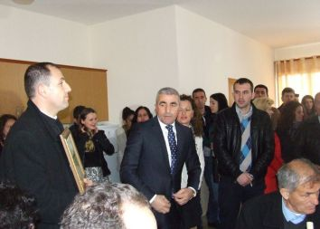 Albania, Koplik: Honorowy obywatel miasta 2015
