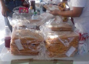 Meksyk, Campeche: Festyn parafialny