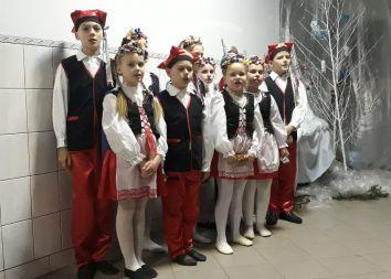 Ukraina, Brzozdowce: Polskie świętowanie.