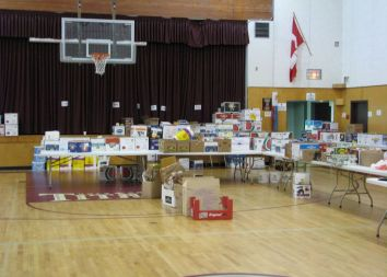 Kanada/Burnaby: Akcja charytatywna 2010