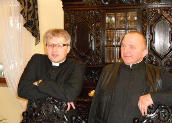 Szczecin: Spotkanie prowincjała z biskupem Andrzejem Dzięgą 2010