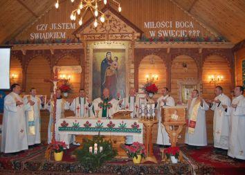 Zakopane-Antałówka: Srebrny jubileusz parafii NMP Matki Zbawiciela 2010