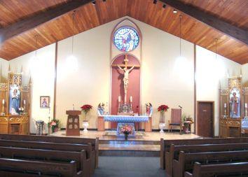 Port Murray, USA: Poświęcenie prezbiterium 2011