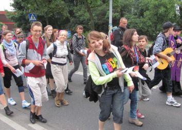 RMS: Wrocławska piesza pielgrzymka na Jasną Górę z Salwatorianami 2011