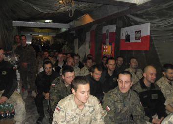 Afganistan: Adwentowe czuwanie w bazie Giro 2011