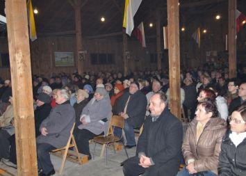 Elbląg: Relikwie Jana Pawła II w szpitalu 2011