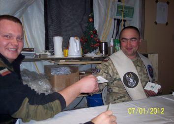 Afganistan: Odwiedziny w Bazie Aryan 2012