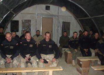 Afganistan: Katechezy przedmałżeńskie w COP Aryan 2012