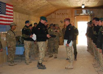 Afganistan: Pożegnanie z COP Aryan.