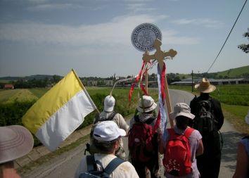 HU-SK-PL: Międzynarodowa Salwatoriańska Piesza Pielgrzymka 2012