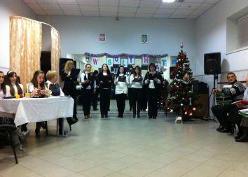 Ukraina: Polska wigilia 2012