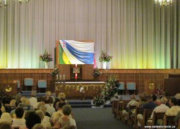 USA, Merrillville: Koronacja obrazu MB Częstochowskiej 2013