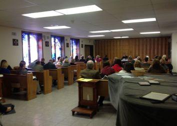 USA, Verona, NJ: Rekolekcje ze Słowem Bożym 2013